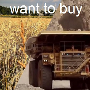 (2) Agric & Mining want to buy