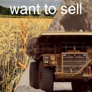 (2) Agric & Mining want to sell